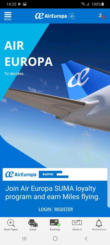 AirEuropa Главная
