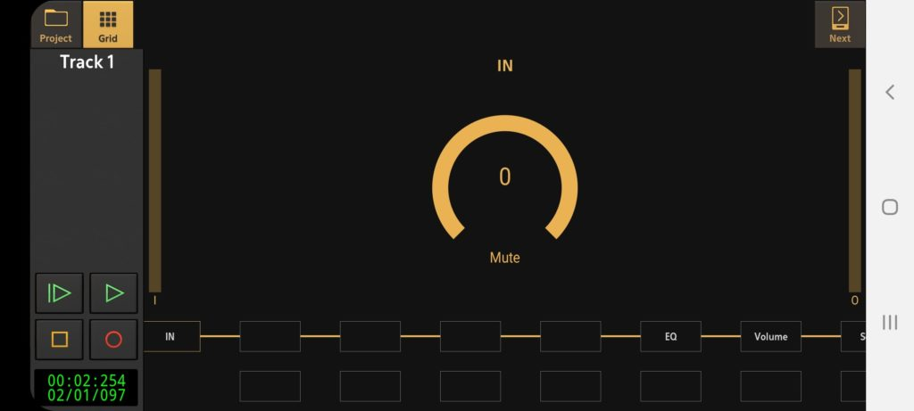 Audio Evolution Mobile Запись