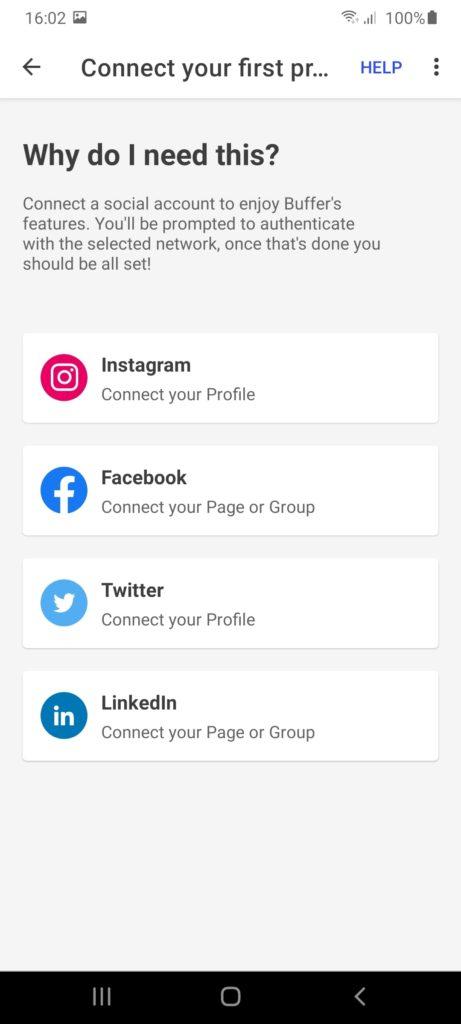 Buffer Социальные сети