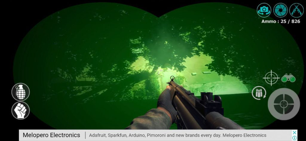 Camera Gunfight Ночное видение