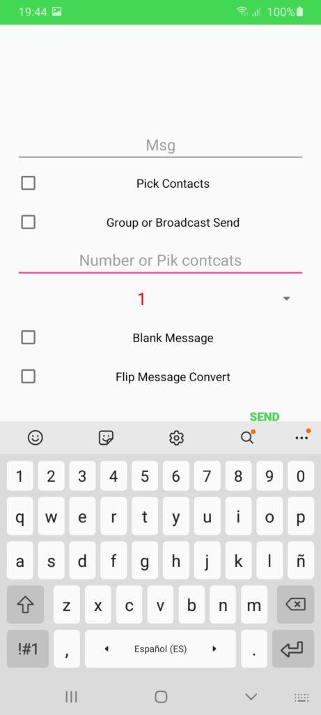 Clicker For WhatsApp Настройка
