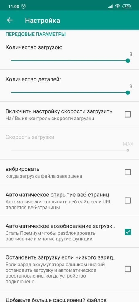 Download Accelerator Plus Настройки