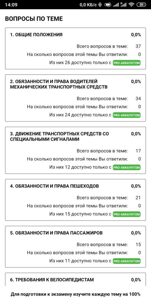 Экзамен ПДД 2020 Украина Список вопросов