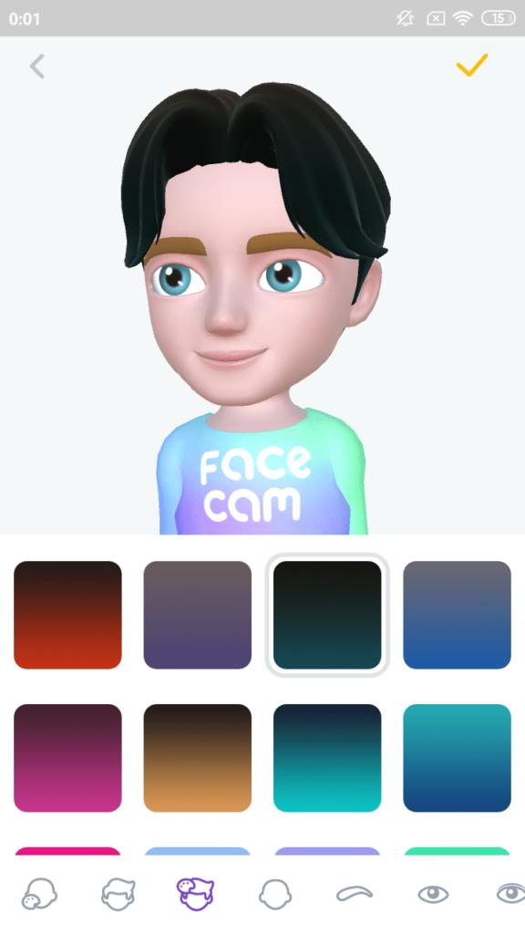 Face Cam Создание аватара