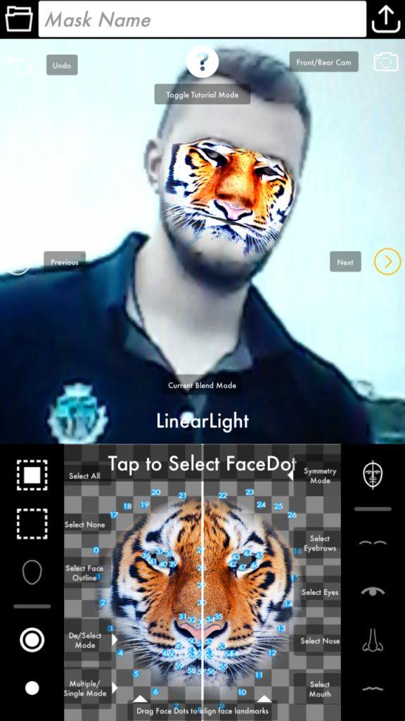 Face Mask Designer Редактор