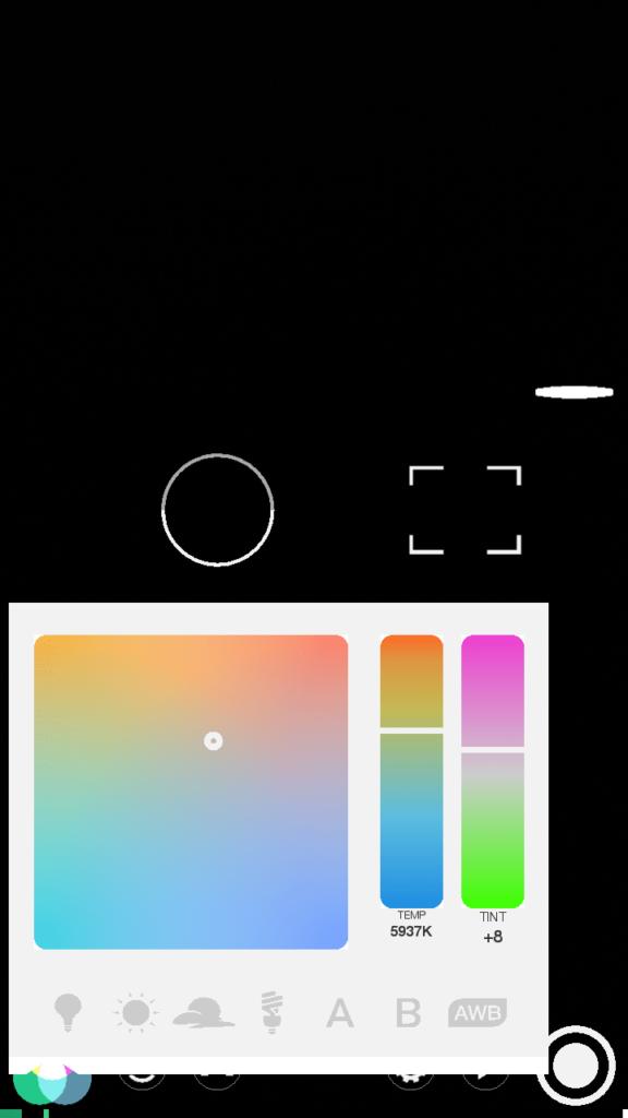 FiLMiC Настройка цветовой гаммы