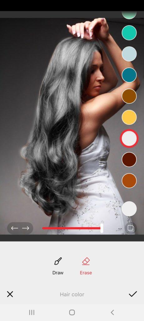 Фотошоп Цвет Волос Серый