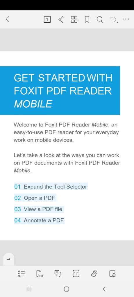 Foxit PDF Документ