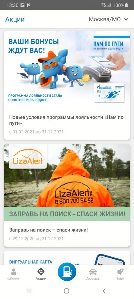Газпромнефть Акции