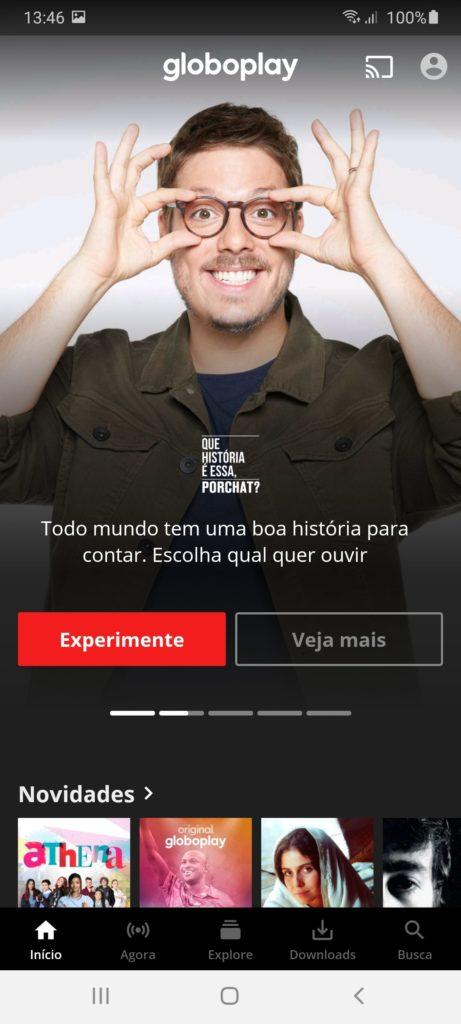 Globo Play Главная