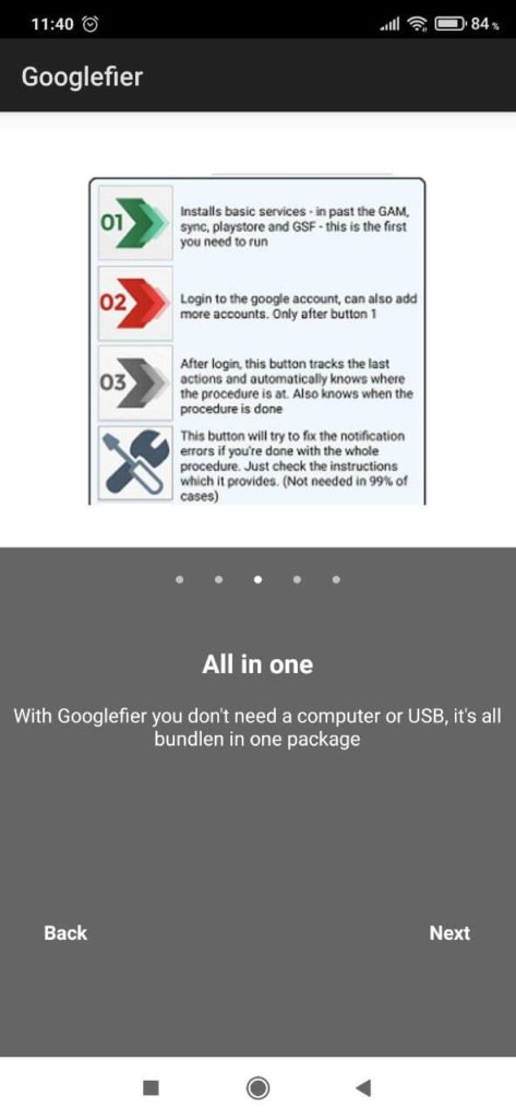Googlefier Инструкция