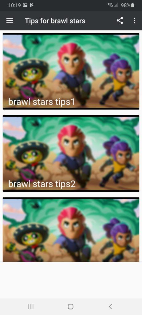 Guide for Brawl Stars Персонажи