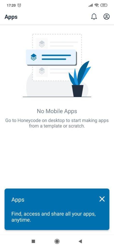 Honeycode Редактор