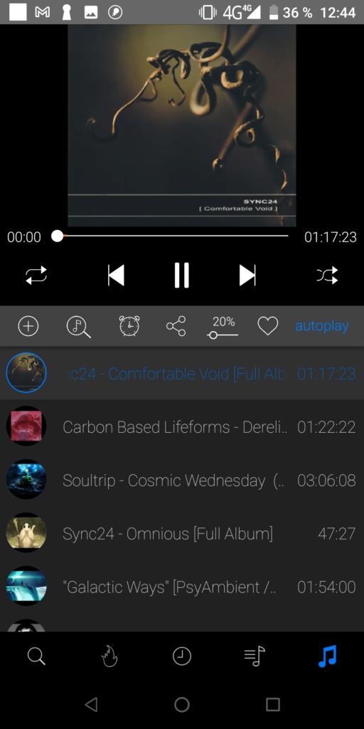 iTube Прослушивание