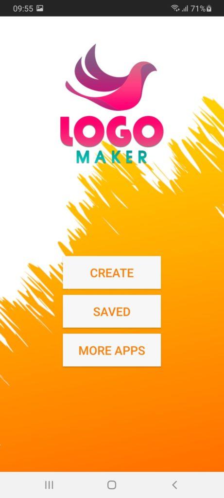 Logo Maker Меню