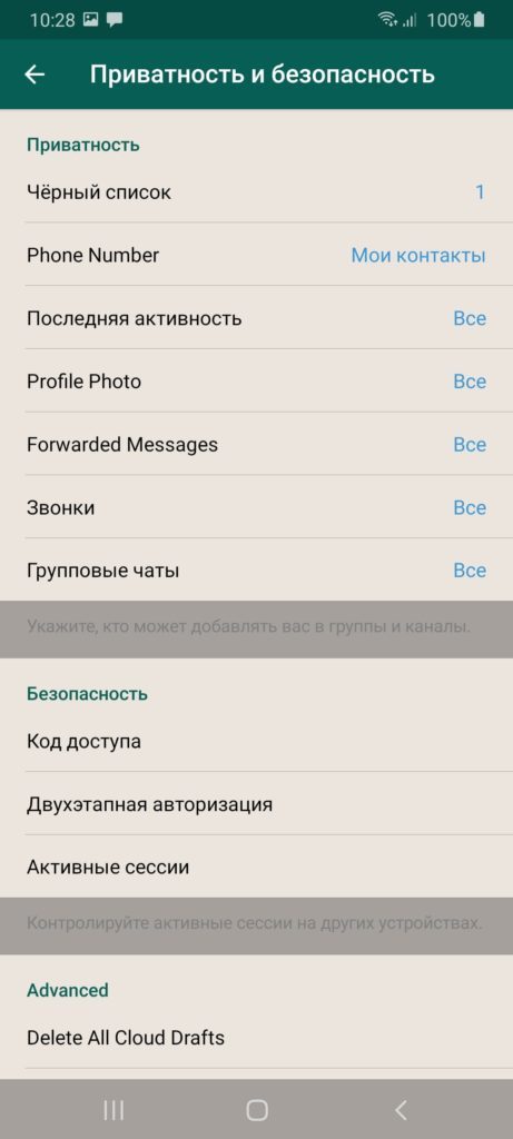 Messenger Plus 2020 Безопасность