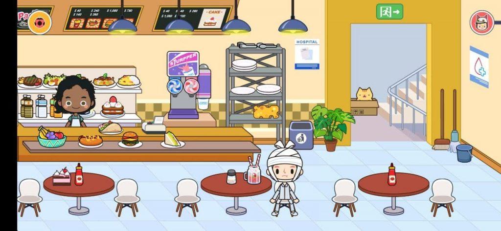 Miga Город больница Кафе