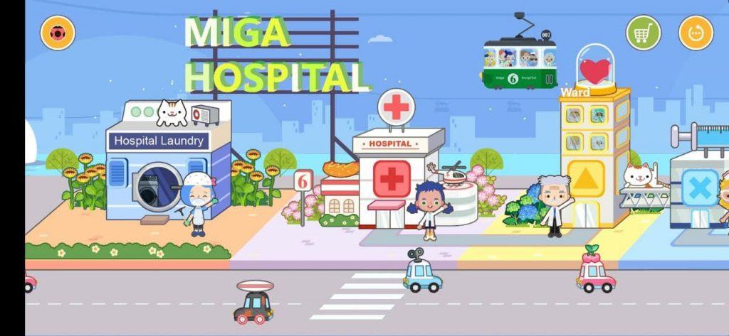 Miga Город больница Улица
