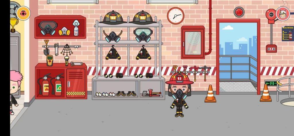 Мига Город пожарное депо Станция