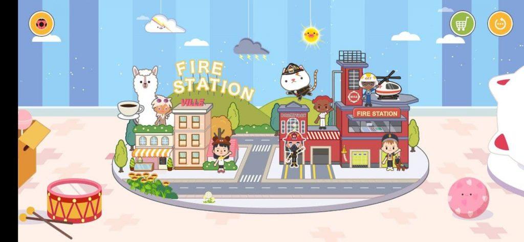 Мига Город пожарное депо Улица
