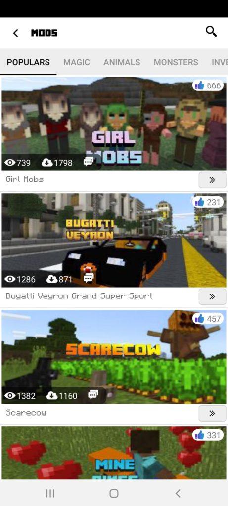 Minecraftiva Best Mods Моды