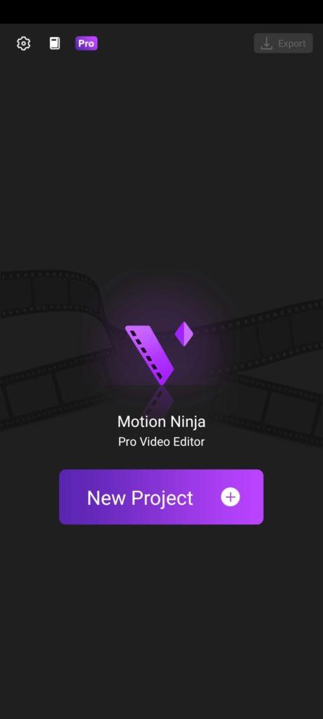 Motion Ninja Главная