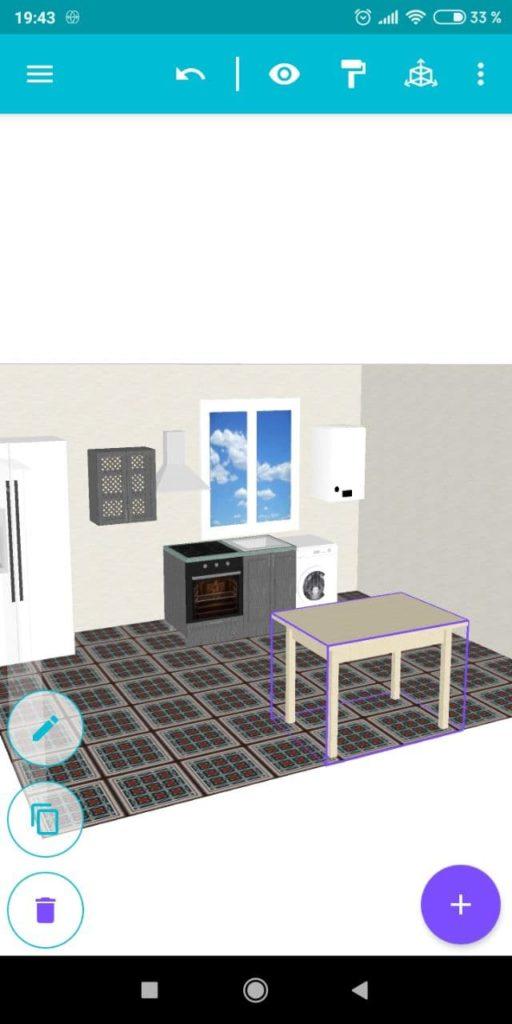 Моя Кухня 3D Планировщик Дизайн