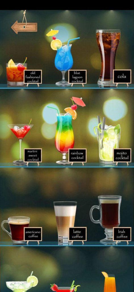 напитков пить коктейль Коктейли