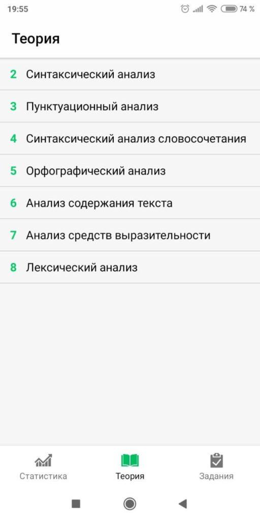 ОГЭ Русский язык 2021 Темы