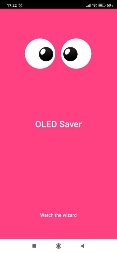 OLED Saver Дисплей