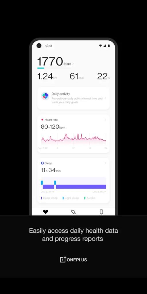 OnePlus Health Состояние здоровья