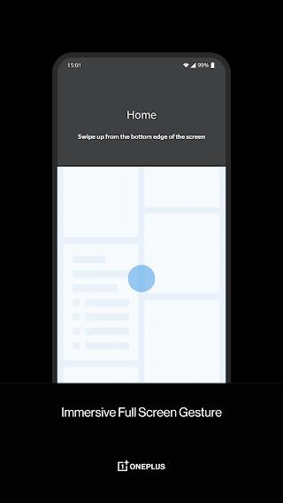 OnePlus Launcher Настройка жестов