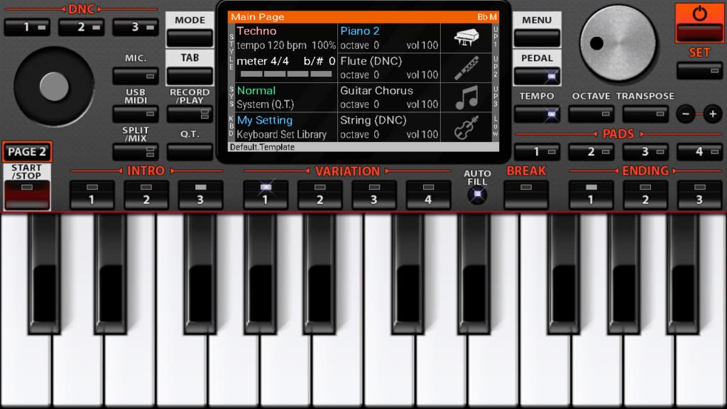 ORG 2019 Клавиатура