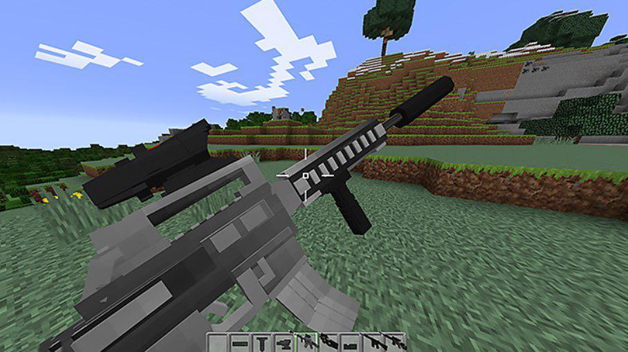 Оружие для Майнкрафт Оружие