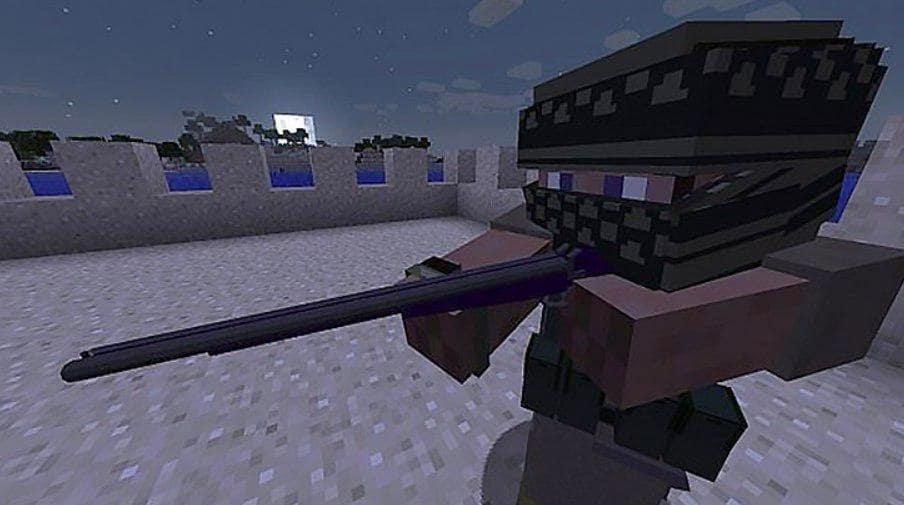 Оружие для Майнкрафт Персонаж