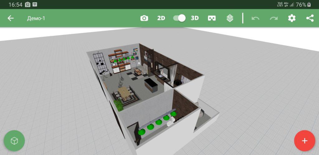 Planner 5D проект