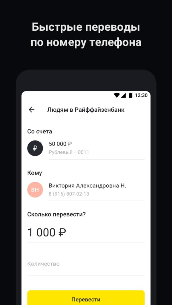 Райффайзен Бизнес Переводы