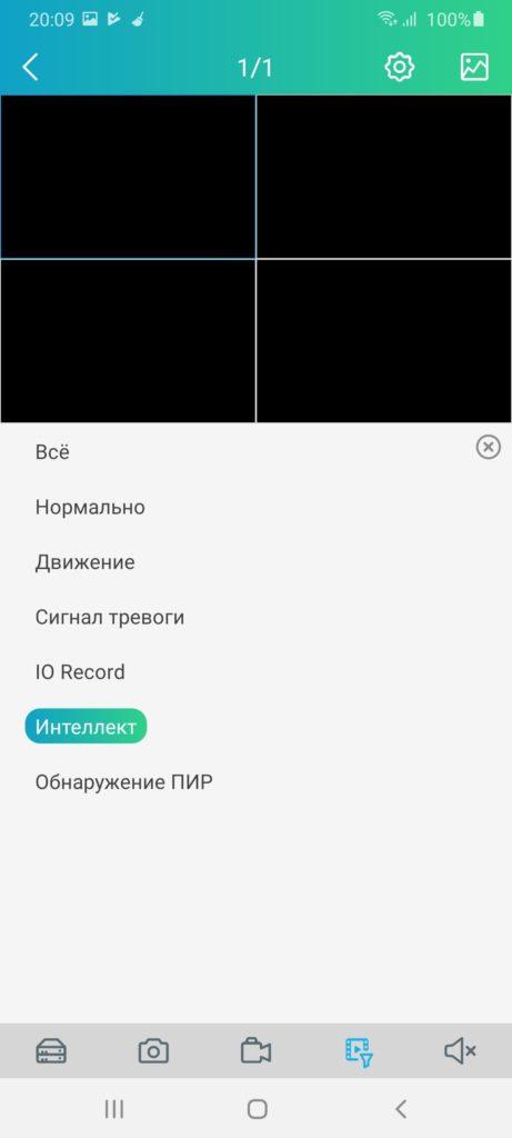 RXCamView Настройки