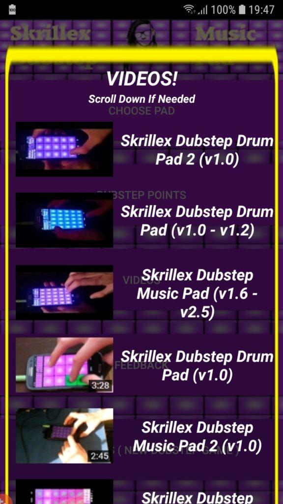 Skrillex Dubstep Music Pad видео