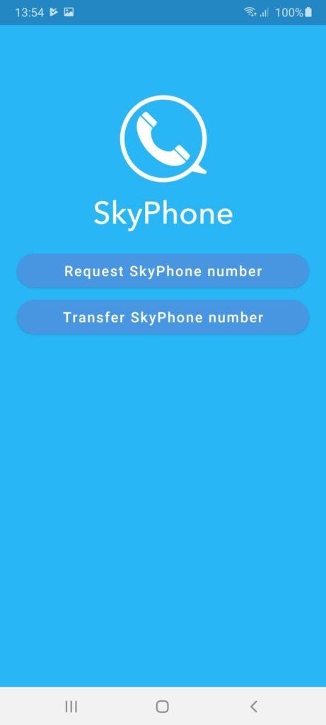 SkyPhone Главная