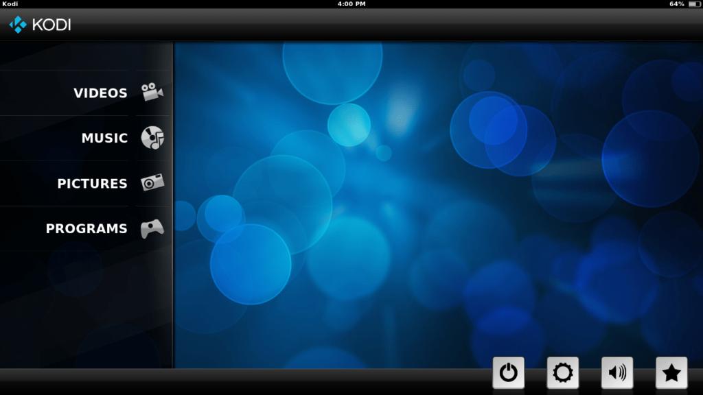 SPMC Главный экран