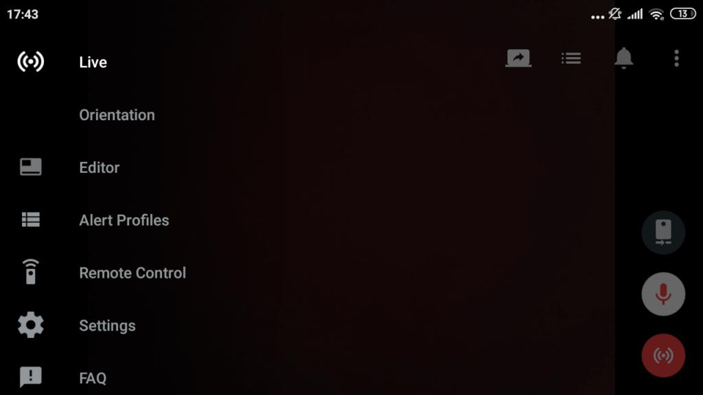 Streamlabs Главный экран