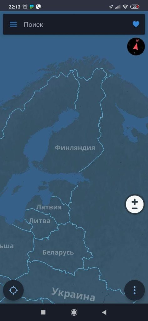 Sygic GPS Карта