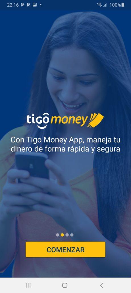 Tigo Money Главная