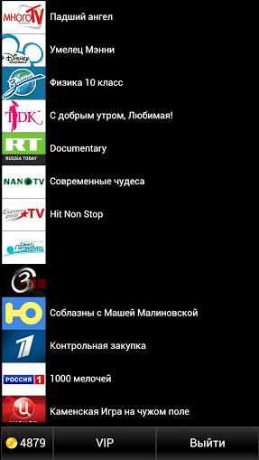 Украинское ТВ Список каналов