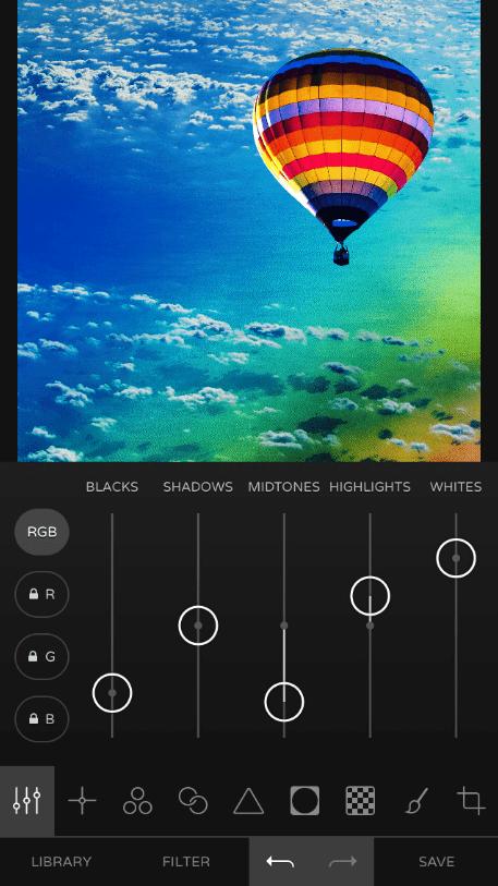 Ultralight Редактирование изображения