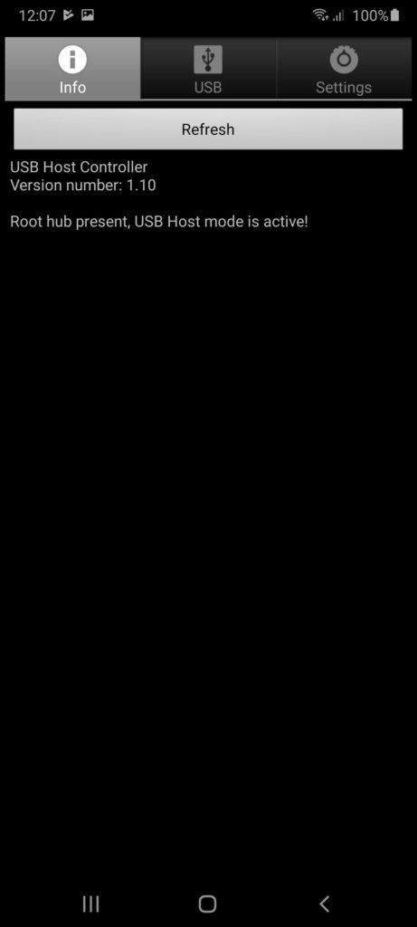 USB Host Controller Главная
