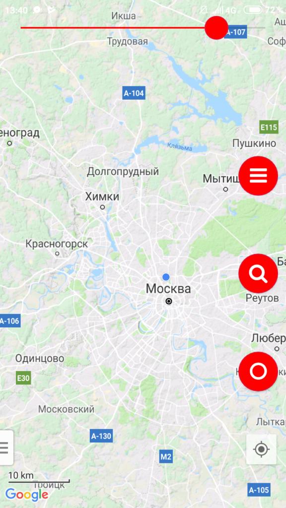 Vetus Maps Карта