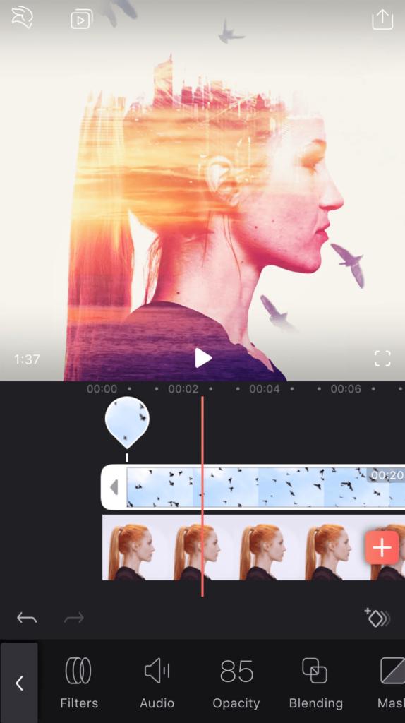 Videoleap Обрезка видео