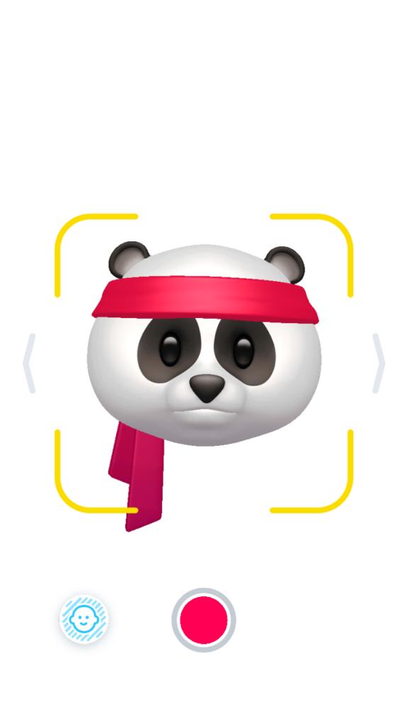 VideoMoji Создание аватара Панда
